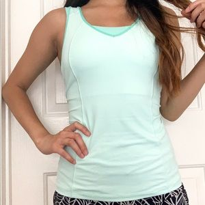 lululemon DISCONTINUED mint green tank